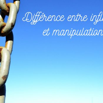 différence entre influence et manipulation